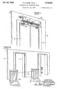 اولین درب اتوماتیک